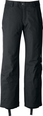Cut for a flattering and free athletic fit, these pants will keep you active through any condition on the slopes this winter. The stretch polyester moves with you for a complete range of motion. ThermaWeb insulation locks in warmth without excessive bulk. Inner snow cuffs with gripper elastic seal out powder. Lower leg stash pocket and right hip zip pocket secure valuables. Cuff anchors. Imported.Sizes: 4-18.Colors: Black, White. Type: Pants. Size: 12. Size 12. Color Black. - $134.88