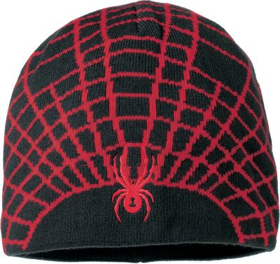 Send your boy to the slopes in style. He will love the spider web stitched on this beanie-style hat. This super-soft and cozy two-sided nonpilling microfleece-lined hat sports an acrylic cashmere body. One size fits most. Imported.Colors: Peat, Black/Sharp Lime, Black/Red. - $19.88