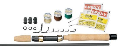 Fishing These kits create a rod with maximum durability, extreme sensitivity, superb power and a super-light feel in the hand. Following the easy instructions, you can build your own custom rod, exactly to your specifications. Choose the length and action and get to work. Kit includes a high-modulus carbon pearl graphite blank, handle, tip top, guides, winding checks, wrapping thread and rod finish. - $135.00