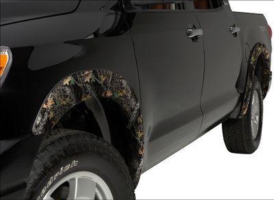 Hunting These fender flares have an OE look that enhances the body lines and offer an extra measure of protection from rocks, mud and road debris. Camo patterns: Advantage MAX-4 HD, Mossy Oak Break-Up, Mossy Oak New Break-Up, Mossy Oak Duck Blind, Mossy Oak Obsession, Realtree AP HD, Realtree APG HD. Color: Camo. - $479.99