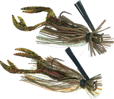 Fishing The perfect combination jig. Comes with matching Hales Craw Worm. Each two-pack includes two different color patterns. Sizes: 1/8 oz., 1/4 oz. Colors: (607)Green Pumpkin/Pumpkin Chartreuse, (617)Pumpkin/Red Chartreuse, (636)Black/Blue Purple, (646)Pumpkin/Green Chartreuse/Purple, (667)Black/Blue/Purple Chartreuse, (737)Purple/Pumpkin/Chartreuse, Color: Black/Blue. Type: Bass Jigs. - $6.99