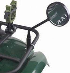 Entertainment Add an extra measure of safety to your ATV. Multidirectional mounting lets you set it for optimal viewing of whats behind you. Universal mounting kit. - $7.88