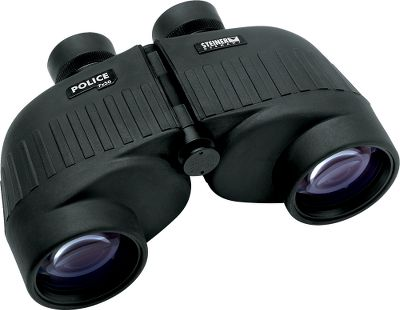 Hunting Steiner is renowned for producing high-quality optical equipment thats used by professionals on duty and outdoor enthusiasts alike. These Steiner Police 10x50 Binoculars are engineered for superior performance in the role of observation under a wide range of field condition. All of the rugged construction, durability features and dependability of the 7x50 Police model, but in a larger unit with higher magnification and larger lenses. Theyre perfect for surveillance operations, urban and field reconnaissance and situations where close-up, detailed observation is necessary. Web strap, rain guard for the eyepieces and attached objective lens covers included. Eye relief is 17mm. Color/Camo Pattern: Black. Binocular Color: Black. Weight (oz.): 36. Type: Full-Size. Power: 10x50. Height (in.): 2.2. FOV @ 1,000 yds. (ft.): 300. Magnification: 10x. Prism Type: Porro. Power 10x50. - $399.99