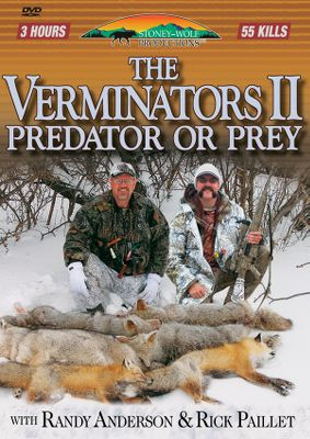 Fitness Randy Anderson teams with Rick Paillet to offer action-packed predator hunting. Available: Volume 1 Over 50 kills. 120 minutes. Volume 2 Over 50 kills with 14 coyotes taken on the run. 180 minutes. - $12.99