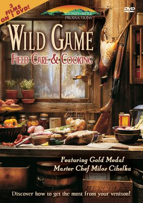 Expert tips on field dressing and preparing big-game meals. Three-DVD set. 225 minutes. - $10.39
