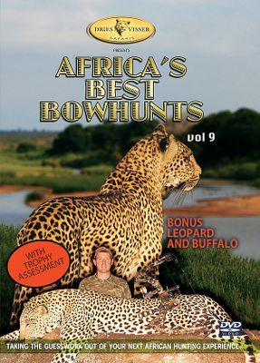 Witness two hours of edge-of-your-seat bowhunting action in Africa. See hunts for a wide range of plains game species as well as bonus hunts for leopard and buffalo. A special section provides crucial information regarding trophy assessment. 120 minutes. DVD. - $8.88