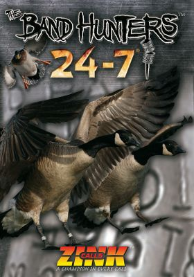 Hunting Each of these DVD's features nearly two hours of waterfowling fun, nonstop action and tips you can use in the field. Available:The Band Hunters 24-7 Fred Zink and his Z-Unit show us waterfowling at its finest in Ontario, Saskatchewan, Colorado, Nebraska, Ohio and the mighty Missouri River. 120 minutes. DVD.Theater of Addiction: Destination X Loaded with the in-your-face waterfowling the Zink crew is famous for. Features a punishing late-season Canada hunt and a unique sink-box hunt for greater snow geese. 120 minutes. DVD.Rest When You're Dead: Four the Hard Way - Zink Calls and Avery Pro-Staffers Alex Langbell and Craig Riche take you on hunts from eastern Washington to Maryland's Eastern Shore. 120 minutes. DVD. - $14.99
