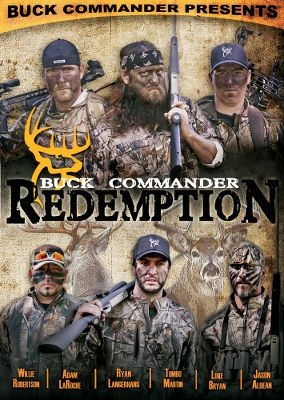 Camp and Hike Every installment of the wildly entertaining Buck Commander DVD series delivers laughter, surprises and the heart-pounding excitement of hunting some of Americas finest bucks. Made in USA. Available: Vigilantes - Volume 4 Like a band of renegades, the Buckmen travel across the country chasing the elusive whitetail in Buck Commander 4: Vigilantes. Join this wild bunch of characters as they embark on another series of rifle and archery hunts across the nation; from the Louisiana swamps and the senderos of South Texas to the hardwood bottoms of the Midwest and the mountains of Wyoming. Hang with the Buckmen on the road, at camp and in the blind as theyre once again joined by country music all-stars, Jason Aldean and Luke Bryan. The boys have upped the ante once again with their latest pranks, stories and hunting adventures! Buck Commander 4: Vigilantes will have your heart racing and sides splitting from start to finish! New Redemption- Volume 5 Famous music artists, Jason Aldean and Luke Bryan join the crew in this latest action packed installment from Buck Commander. 68 minutes. - $11.88