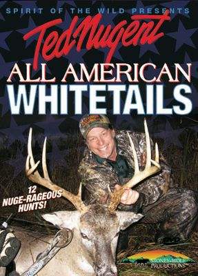 Follow Ted Nugent as he ambushes giant whitetails in Texas, Wisconsin and Michigan. 163 minutes. - $12.99
