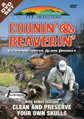 Follow Alan Probst on his trapping line, as he shows you successful methods and techniques for trapping raccoons and beavers. Learn set location and construction while out in the field. Includes a bonus, two-hour compilation on skull cleaning and preservation. 240 minutes. - $19.99