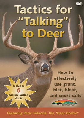 Hunting Follow along as The Deer Doctor, Peter Fiduccia shows you practical techniques for deer-calling success. Learn a variety of sounds, as well as how, when, where and why to use them. 90 minutes. - $7.88