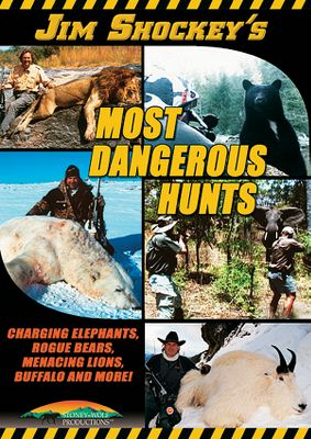 Follow Jim Shockey on these risky, heart-pounding adventures as he and his hunters stand eye-to-eye with Cape buffalo, elephants, hippos, lions, black bears, polar bears and mountain goats. 93 minutes. - $12.99