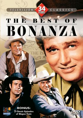 A collection of the very best episodes of Bonanza, the historical television show that rewrote the book on the western genre. Join Ben (Lorne Greene), Adam (Pernell Roberts), Hoss (Dan Blocker) and Little Joe (Michael Landon) as they back up family values and the fight for justice with readied six-guns. Set also includes three bonus episodes of Wagon Train. 34 episodes. 1,530 minutes. Four DVDs. Type: DVD. - $9.99