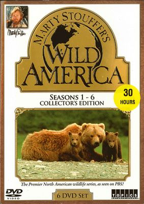 Now you can own 60 episodes of the first wildlife and nature series to focus exclusively on the wild animals of North America. Hosted by award-winning photographer and naturalist Marty Stouffer, these DVDs feature all the episodes from the first six seasons. Each show is highlighted by spectacular footage of mammals, birds, reptiles, fish and insects from across the entire continent. Sure to be a favorite of adults and kids alike. 30 hours each.Available: Seasons 1-6, Seasons 7-12. - $39.99