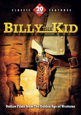 Entertainment Culled from classic film archives, this four-DVD set includes 20 action-packed movies about Wild West legend Billy the Kid. Movie stars like Buster Crabbe, Bob Steele, Al St. John and others bring the larger-the-life exploits of Billy the Kid to life in these beloved Westerns. 18+ hours.Includes: Billy the Kid in Fugitive of the Plains Billy the Kid in Texas Billy the Kid Trapped Billy the Kid Wanted Billy the Kids Gun Justice Billy the Kids Range War Blazing Frontier Cattle Stampede Devil Riders Frontier Outlaws Gangsters Den His Brothers Ghost The Kid Rides Again Oath of Vengeance Panhandle Trail Rustlers Hideout Shadows of Death Sheriff of Sage Valley Western Cyclone Wild Horse Phantom - $6.69