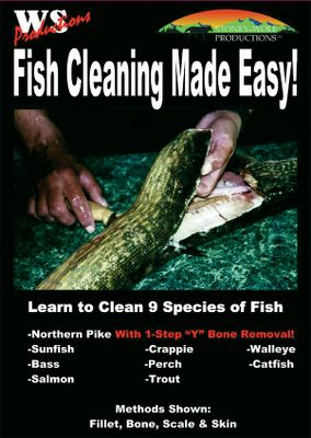 Spend less time cleaning your fish and more time enjoying your catch. This instructional DVD covers nine species of fish, uncovering the best ways to skin, scale, fillet and bone your catch. Also includes the simple, one-step Y-bone technique for filleting Northern Pike. 91 minutes. - $10.39