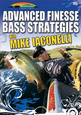 One of Americas top professional anglers, Mike Iaconelli, shows you how to catch bass consistently, even when theyre stubborn. Covers tube, drop shot, stick bait, line, shaky head, split shot and French fry variations. 56 minutes. - $10.39