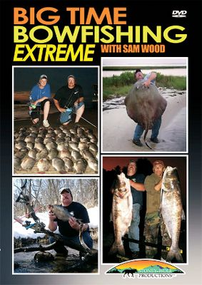 Extreme Join Sam Wood and his crew as they travel across the country in pursuit of trophy fish with bows and arrows. See them go after alligator gars, huge stingrays, giant snapping turtles, monster bigheads and other species, some of which weigh more than 200 lbs. They battle the elements as well in pursuit of their prey roasting under the hot Texas sun and enduring the freezing cold of a Wisconsin winter. Watch all of the fun and challenges as they bring you the most diverse and action-packed bowfishing footage ever caught on video. 101 minutes. DVD. - $12.99
