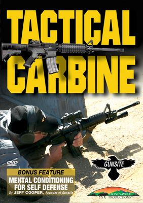 Practical, one-on-one tactical carbine training from Gunsite Academy, one of the worlds premier shooting academies. This DVD focuses on all aspects of the versatile carbine from close-quarters combat to long-range shooting, and indoors engagement to field operations. Youll learn how to leverage the flexibility of the carbine and its accessories for success in any situation. Filmed on location at the Gunsite Academy with processional instructors. Includes chapters on safety, marksmanship, modes of carry, deployment, movement, low-light methods and more. 80 minutes. DVD. - $15.99
