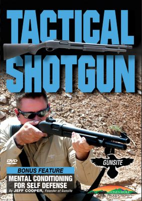 Hunting Easy-to-use reference DVD will become a valued addition to your shooting library. It covers the exceptional training methods and doctrine of the Gunsite Tactical Shotgun Program. Gunsite Academy is known throughout the world as the premier firearms training school for working professionals and civilians. If you depend on a shotgun for personal self defense, this is the training method you will want to use. Covers elements of gun handling, starting with safety and progressing through effective tactical movement. Other topics include equipment selection, shotgun patterning, ammunition preference and accessory alternatives. 76 minutes. DVD. - $15.99
