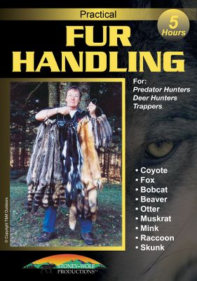 Motorsports Whether you want a full-body taxidermy mount or a sealable pelt, learn the step-by-step process of preserving hides from furrier, trapper and professional guide, Tom Osborne. Packed with step-by-step instructions, this video provides you with the skills you need for skinning, fleshing and stretching. Individual chapters highlight fox, coyote, bobcat, beaver, otter, muskrat, mink, raccoon and skunk. 300 minutes. DVD. Color: Coyote. - $11.88