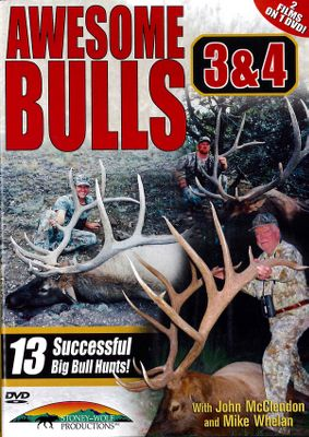 Hunting This incredible double feature showcases a number of monster bulls taken by archery and rifle. Watch as huge 6x6s, 7x7s and even a magnificent 7x8 are harvested in this spectacular DVD set. 120 minutes. - $12.99