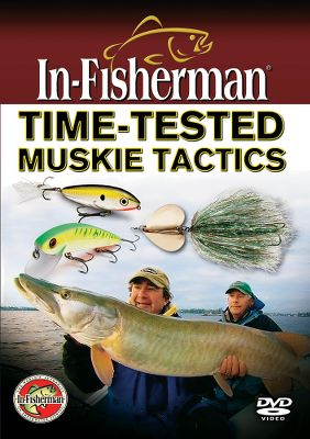 Fishing In-Fisherman experts share insider tips and techniques to increase your odds of connecting with more muskies. Learn about topwater, double-blade bucktails and trolling techniques. Discover an underwater muskie viewing system and uncover moon secrets. Gear up with cutting-edge tackle options and advances in fish-finding technology. 66 minutes. DVD. Type: DVD. - $8.88