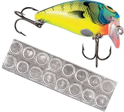 Fishing Now it's quick and easy to turn a floating crankbait into a suspending version of the same model. Press these adhesive dots onto your lure to adjust buoyancy. Per 80. - $6.99