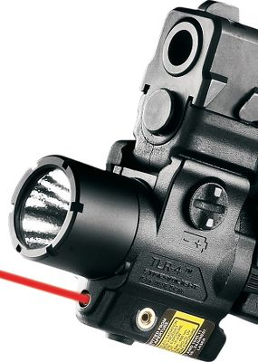 Fitness Lightweight tactical light/laser-sight combo. Long-running, shockproof light projects blinding illumination from a 3-watt Luxeon LED. Rugged polymer and aluminum construction. Mounts to Picatinny or side-mounting Glock rail. Waterproof to 39 for one hour. Ambidextrous momentary or constant-on switch. Peak beam intensity of 110 lumens with optimal peripheral illumination. Runs up to 1-1/2 hours in light mode and up to 11 hours in laser-only mode on one 3-volt CR-2 lithium battery (included). Securely fits a range of firearms with included interchangeable keys. Manufacturers limited lifetime warranty. Weight: 2.81 oz. Available:Green Laser, Red Laser. Color: Green. Type: Handgun Lights. - $149.99