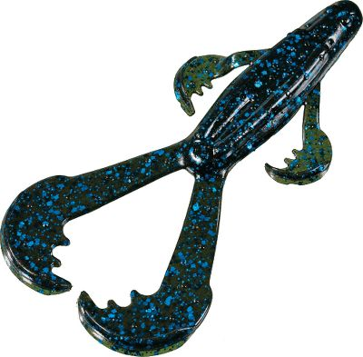 Fishing These versatile soft plastics can be Texas-rigged, flipped or fished with a lead head. The Monkey bulks up a lure and gives you a lot of action in the water as it falls or swims. Per 6. Size: 6. Colors: (002)Black/Blue Flake, (018)Watermelon/Black, (046)Green Pumpkin Seed. Color: Black/Blue. Type: Creatures. - $5.99