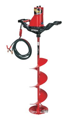 Fishing Engineered to auger up ice inside your shelter and absolutely ideal for redrilling frozen holes. With its built-in safety relay, the two-step steel blade design and its lightweight polymer gear castings, the smokeless Big Volt Electric Auger offers smooth-and-easy, one-man operation. Vandar long-filament high-impact handles are nearly indestructible. Imported.Available: 8.25 - 25 lbs. 10.25 - 27 lbs. - $489.99
