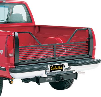 Motorsports Improve fuel economy with this drag-reducing tailgate. It's made of heavy-duty steel tubing, with an open, low-profile design for maximum rearward vision. The wide center cut simplifies bed access and provides 5th-wheel and goose-neck clearance. Custom fit; no additional hardware required. - $169.99
