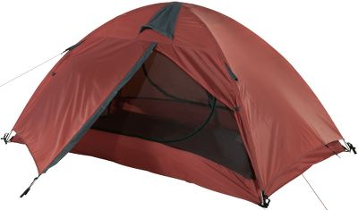 Camp and Hike Throw this lightweight, 3-person tent on your bike and youre ready to go where the road leads you. The aluminum-pole construction system makes for a sturdy tent that wont weigh you down. The 1,500mm waterproof full rain fly and floor with 100% taped seams ensure you wont spend your morning trying to dry your gear. Tent features No-See-Um mesh, gear loft, aluminum stakes, interior pockets, glow zipper pulls and carry bag. Imported. - $199.99