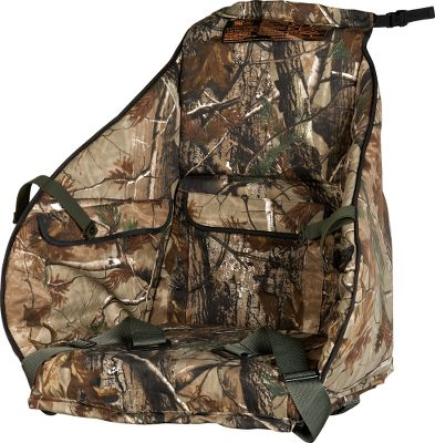 Hunting Offers full coverage, an enclosed seat and pockets for heat packs, foodand other accessories. Fits most Summit climbing treestands. Made in USA.Camo pattern: Realtree AP. Type: Replacement Seats. - $99.99