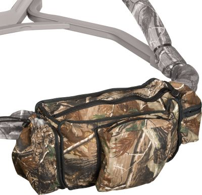 Hunting A durable zippered storage bag that fits any Summit treestand witha front bar. Also fits many other brands of treestands. Imported.Camo: Realtree AP. Type: Storage Bags. - $34.99