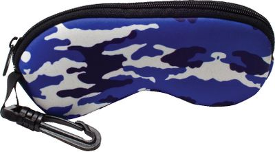Fishing Sunbelts cushioned, floating case is a sensible and affordable way to protect your glasses, fitting nearly any size. Attach the case to your backpack, fishing vest or belt loop with the durable, plastic leaf-spring utility clip for added peace of mind. Zippered closure. Limited lifetime warranty. Imported. Camo patterns: Blue Water Camo, Realtree MAX-4, Realtree Hardwoods Green HD. Color: Green. - $13.99