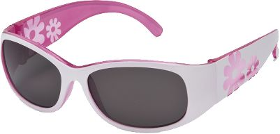 Entertainment Watch your little wildflower bloom with these cute, cheerful sunglasses from Sunbelt, designed specifically to fit childrens faces. Theyre made from high-quality, durable materials, and have high-impact-resistant polycarbonate lenses that are shatterproof and block 100% of harmful UVA/B/C rays. Lead- and phthalate-free, and ANSI Z80.3 certified. Limited lifetime warranty. Gender: Female. Age Group: Kids. Type: Non Polarized. - $14.99