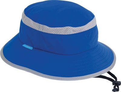 The Kids Fun Bucket Hat From Sunday Afternoons is made of lightweight breathable certified sun fabric with top-of-crown mesh for ventilation. The flexible down-sloped 2.5 brim covers the face and ears. Chin strap with cord lock. UPF rating of 50. Packable. Imported. Wt: 1.3 oz. Brim width: 2.5. Sizes: 0-6 mo., 6-24 mo., 2-5 yrs., 5-9 yrs, S-L. Colors: Tan, Blossom (not shown), Pink Camo/Pink, Green Camo/Black. Size: 6-24 MO. Color: Green Camo. Gender: Unisex. Age Group: Kids. Pattern: Camo. - $14.88