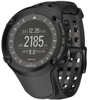 Camp and Hike This highly specialized watch is designed for the serious adventurer and outdoor explorer. Full-function GPS with waypoint navigation gets you there and back again. It also provides accurate barometric readings, temperature, altitude and unique 3-D compass navigation. Advanced features like FusedSpeed keeps track of your pace and speed using GPS technology and vertical speed with barometric pressure. You can also download your activities for customized planning and analysis. Backlit display for use in low-light or dark conditions. Ultradurable case and strap are coupled with a scratch-resistant mineral glass lens for rugged use. Water-resistant to 100 meters. Case diameter: 50mm. Colors: Black, Silver. - $500.00