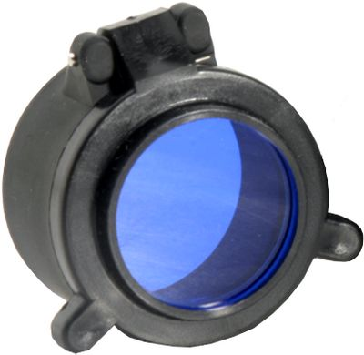 Camp and Hike Equip your 6P/Z2/G2 light with filters for added versatility and function. Red filters are ideal for walks to and from the stand. The Infrared is for use with night vision equipment. Blue lenses are designed to illuminate blood for nighttime tracking.Available: Blue, Red. - $49.88