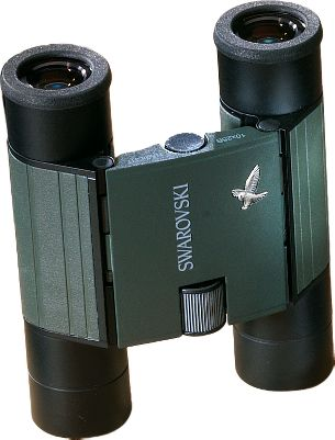 Hunting Compact enough to fit into any pocket or pack, these Swarovski Pocket 8x20 Binocular offer unusually high optical complexity, a large field of view and high-contrast image quality. The Compact series has 16 lenses and phase-corrected roof prisms for sharp images and vivid color. The precise laser alignment eliminates eye strain. Central focusing and dioptic adjustments allow the binoculars to be easily adjusted to your eyes. The twist-in eyecups let you use these binoculars if you wear glasses. All lens surfaces are coated with SWAROTOP and SWARADUR multi-layer coatings for maximum light transmission. Prisms are broad-band and phase coated for extremely bright and color-true images. Each has a durable metal housing. - $539.88