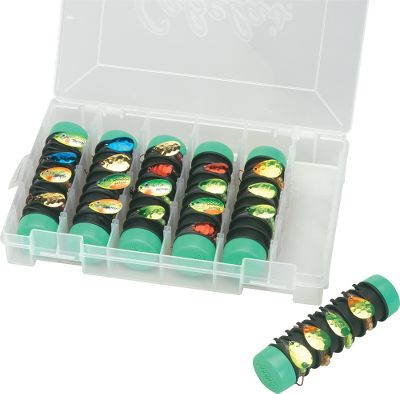 Fishing Keep snells, spinner rigs and Carolina rigs rigged and ready with the Pro Kit. Each tackle buddy can hold up to eight rigs, untangled and ready for the water. Includes six Tackle Buddies and a storage box. Spinners sold seperately. - $23.99