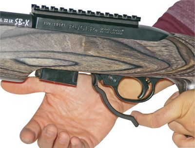 Never again will you have to fumble with trying to get the clip out of your 10/22. A simple flick of the finger and the magazine is out of the rifle. Colors: Matte Black, Silver, Blue. Color: Matte black. Type: Accessories. - $39.99