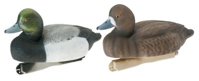 Hunting Tanglefree Migration Series Bluebills Diver Decoys made specifically for the diver hunter and big-water situations. High-density internal foam filling helps the decoy ride high in the water and makes it unsinkable.Painted with lifelike realism. Weighted keel. Bluebills are 14-1/2 in length.Includes four drakes and two hens.Per 6. - $65.92