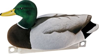 Hunting The ultimate in realism and durability and an excellent addition to any spread. Made with high-density foam that helps the decoy ride high in the water and makes it unsinkable.Painted with lifelike realism. Weighted keel. Drakes only. Per 6.Resters 17-3/4 long; uprights 17-3/4; and skimmer drakes 21-1/2.Available:Variety pack: Two rester drakes, two upright drakes and two skimmer drakes. Type: Mallard Duck Decoys. Variety. - $69.99