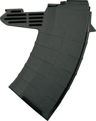 With a steel floor plate and nearly indestructible composite construction, these detachable magazines also have horizontal finger grooves for sure grip. 7.62x39mm. Designed for composite stocks. Made in USA. Available: 5 round, 10 round, 20 round. Type: Rifle Magazines. - $24.99