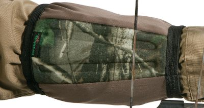 Hunting The Flex Foam exterior on this 7-long knit/elastic tube armguard protects both the bowstring and your forearm. It works especially well when worn over bulky clothes. Camo. Size: Large. Color: Camo. Type: Armguards. - $14.99