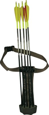 Hunting Carry it on your hip, mount it on almost any pack that has tie-down straps, or hang it next to your treestand. That's why it's called the Multiple Attachment Quiver (M.A.Q.). This versatile quiver accommodates just about any kind of carry or hanging option. Lightweight and compact, it's perfect for spot-and-stalk bowhunters, yet also great for keeping arrows close in a treestand or blind. This patent-pending design holds five arrows and features a removable belt and leg strap. It has multiple loops for attachment to most packs, and a loop for hanging it on a treestand as well. Color: Brown. Type: Hip Quivers. - $36.99