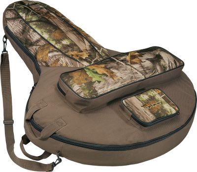 Hunting More than just a carry case, it holds your crossbow and everything you need for a day of shooting. 5 depth provides added space for scoped crossbows. An oversized pocket houses your bolts and quiver. The accessory pocket has an organizer for spare parts and bolt tips. Shoulder strap and sturdy carry handle for easy transport. Imported. Length: 42. Width: 33-1/2. Depth: 5. Camo pattern/Color: Camo. Color: Brown. Type: Crossbow Cases. - $76.99