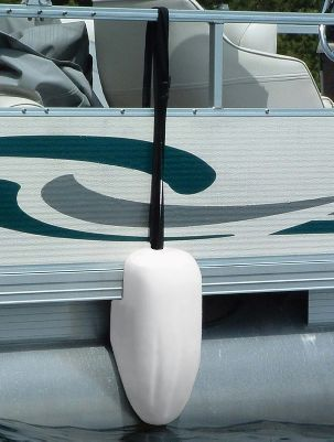 Motorsports Specially designed to fit over your boats pontoons, these fenders are a snap to install and remove. Plus, their unique construction ensures theyll stay in place. Available: 9 x 16 or 9 x 36. Type: Pontoon Fenders. - $39.99